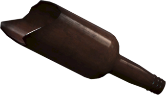 Broken bottle PNG
