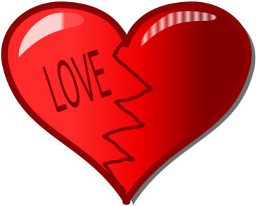 Broken heart PNG
