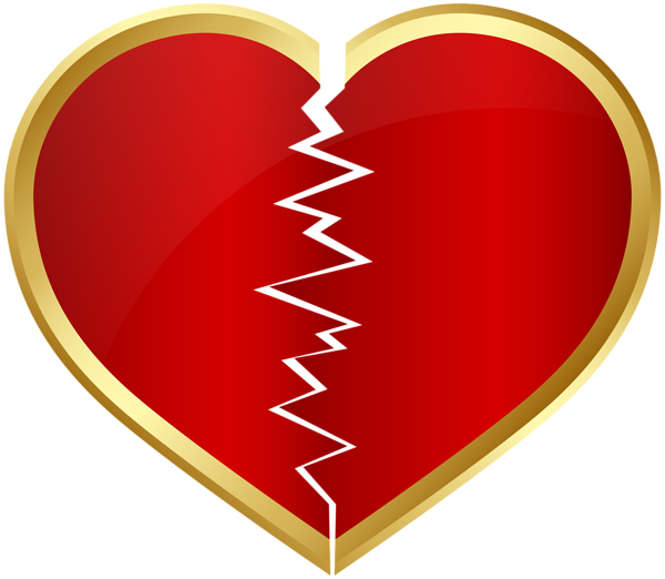 Broken heart PNG