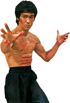 Bruce Lee PNG
