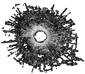 Bullet holes PNG images Download