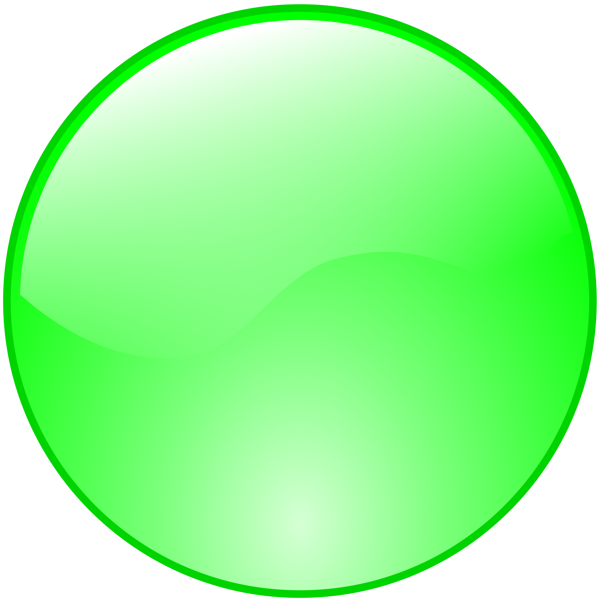 Button png - Green button ...