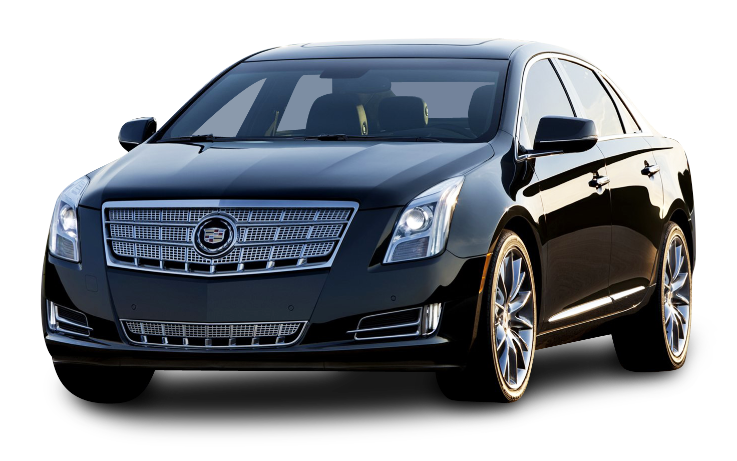 Black Cadillac Car