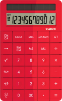 red calculator PNG image