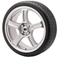 Car wheel PNG image, free download