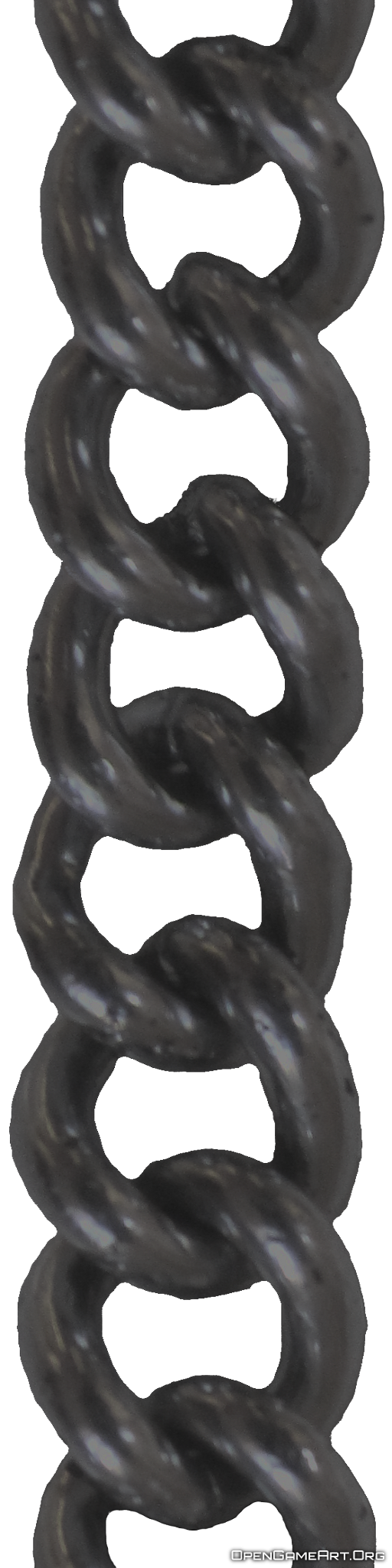 Black chain PNG image