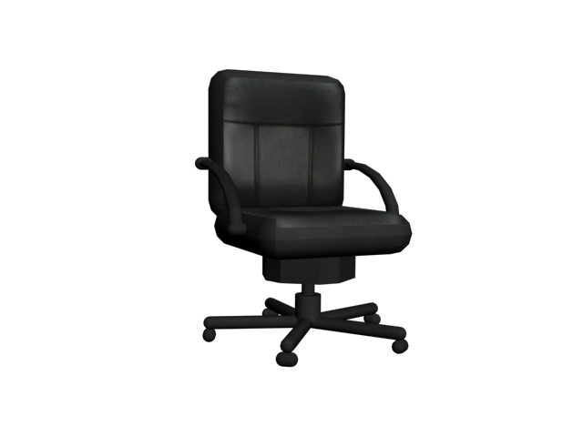 Office chair PNG image