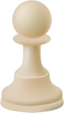 Chess pawn PNG image