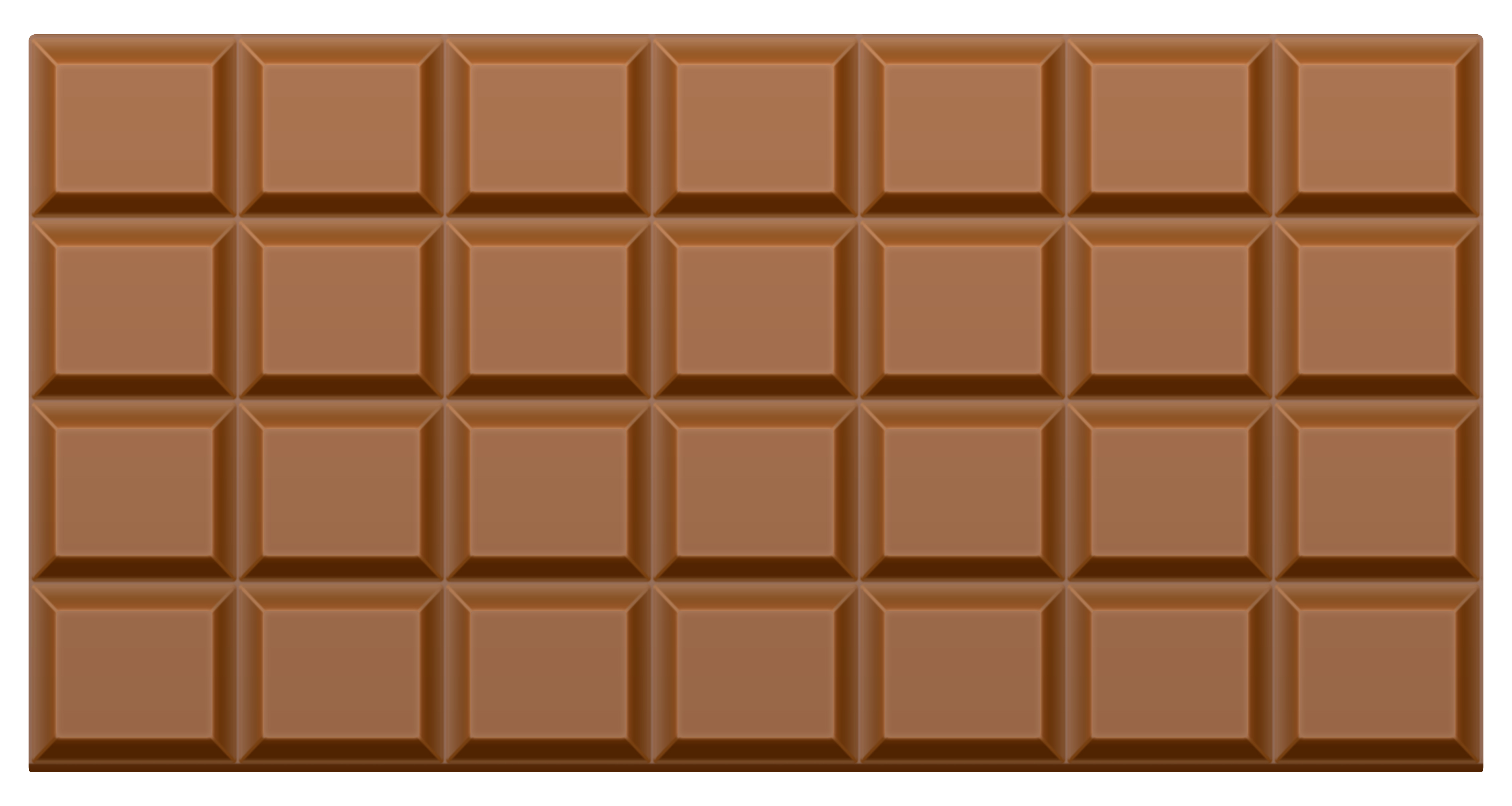 Chocolate bar PNG image