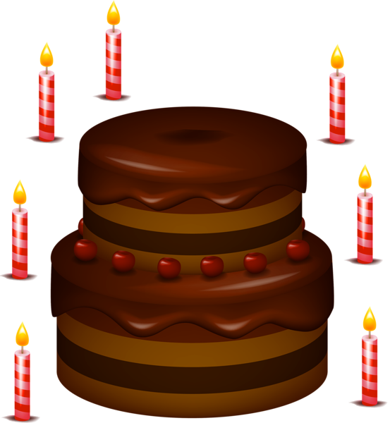 Chocolate cake PNG images free download