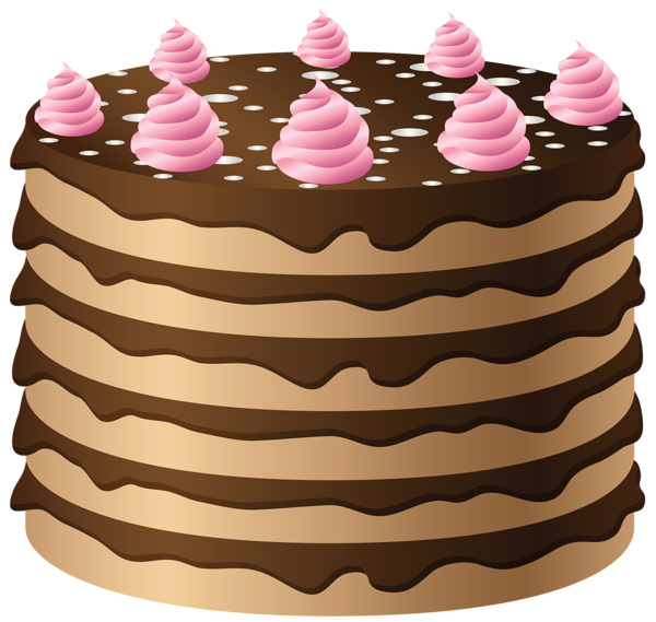 Chocolate cake PNG