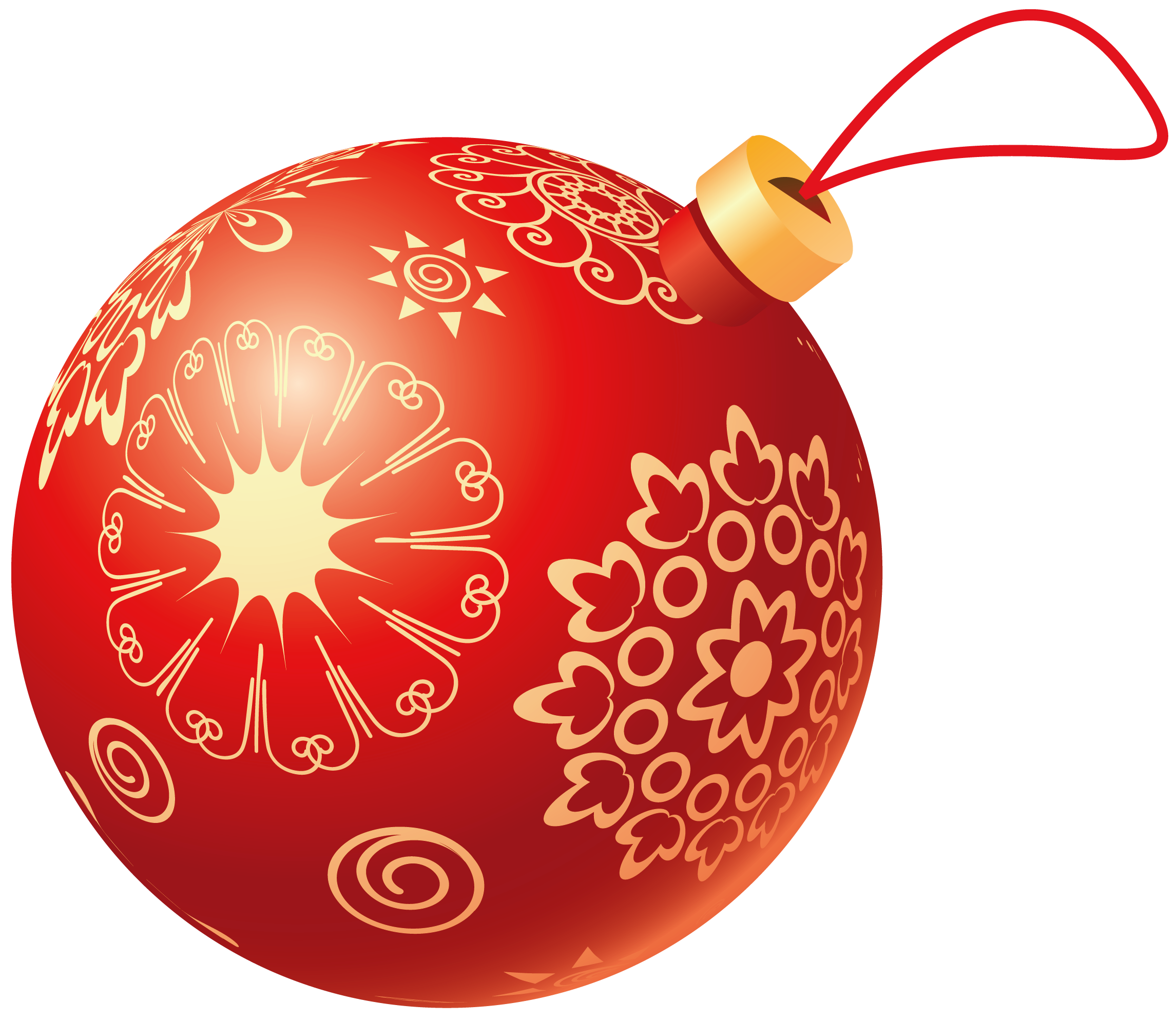 Christmas ball toy PNG