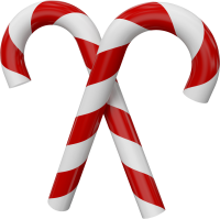 Christmas candy PNG