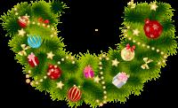 Christmas garland PNG
