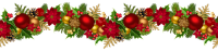 Christmas garland PNG