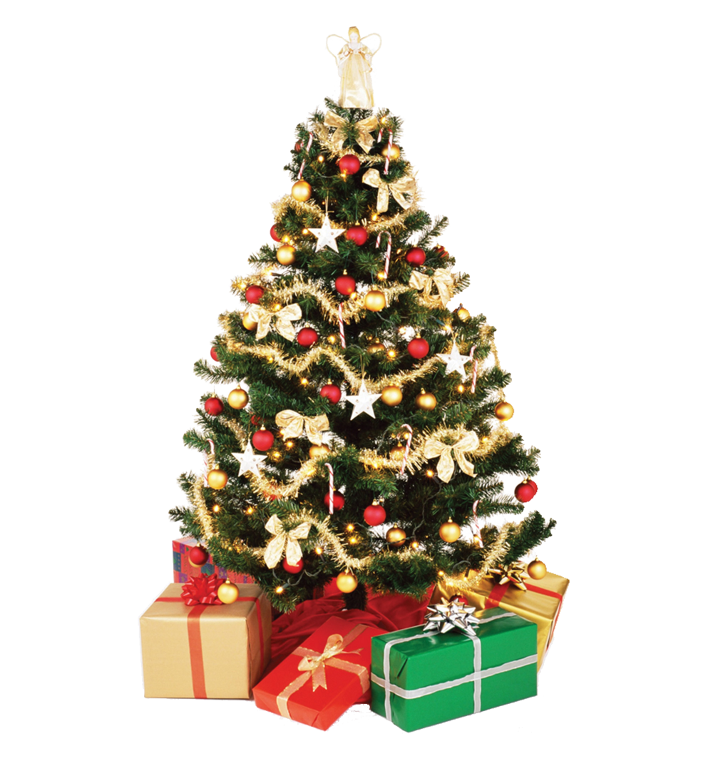 Christmas tree png images free download for Christmas tree items list