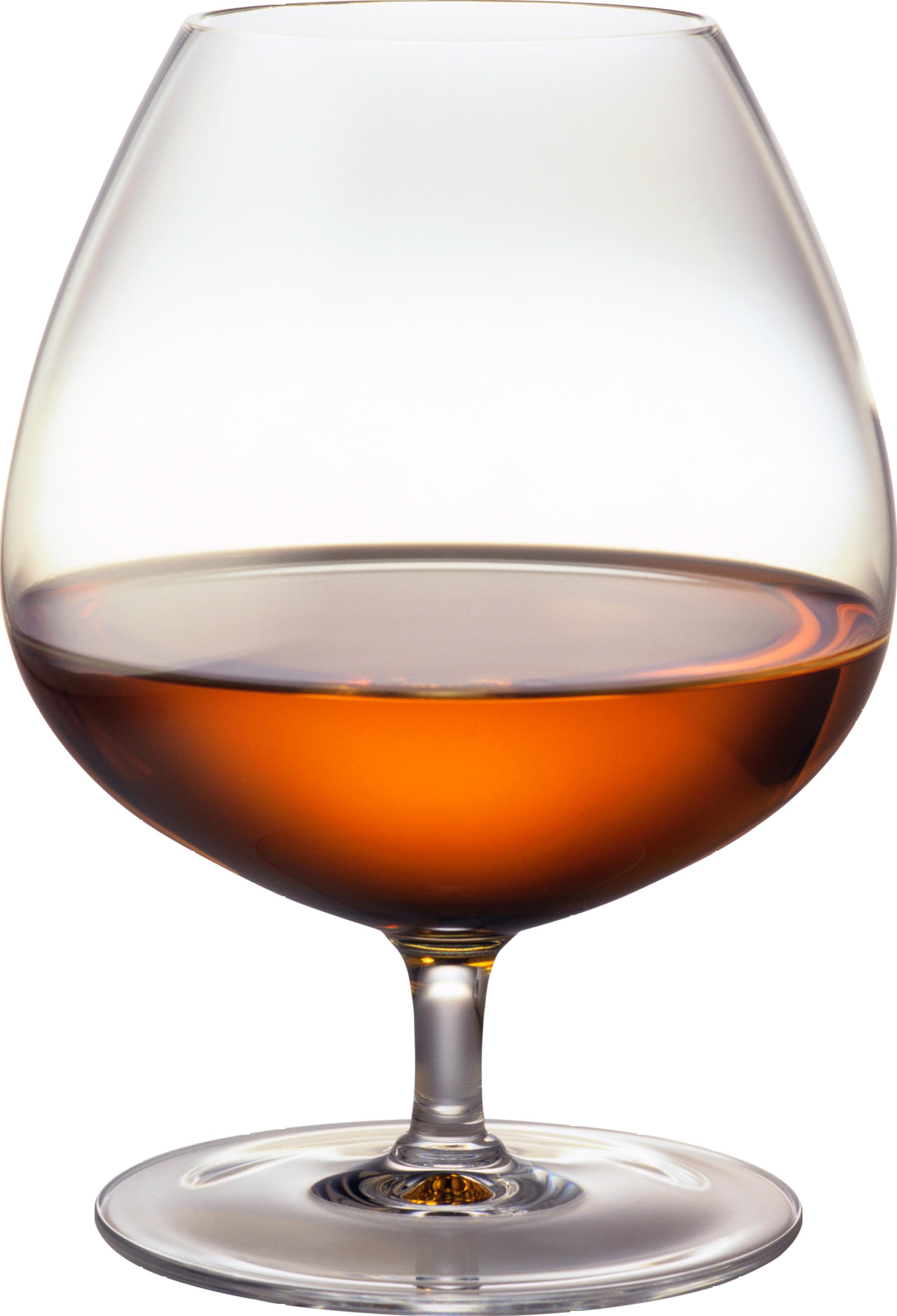 Cognac glass PNG