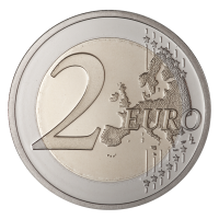 Coin 2 euro PNG image