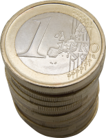 Coin euro PNG image