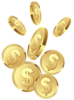 Coins PNG image