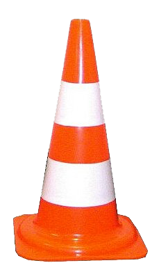 Orange cones PNG