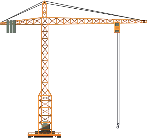 Crane tower PNG