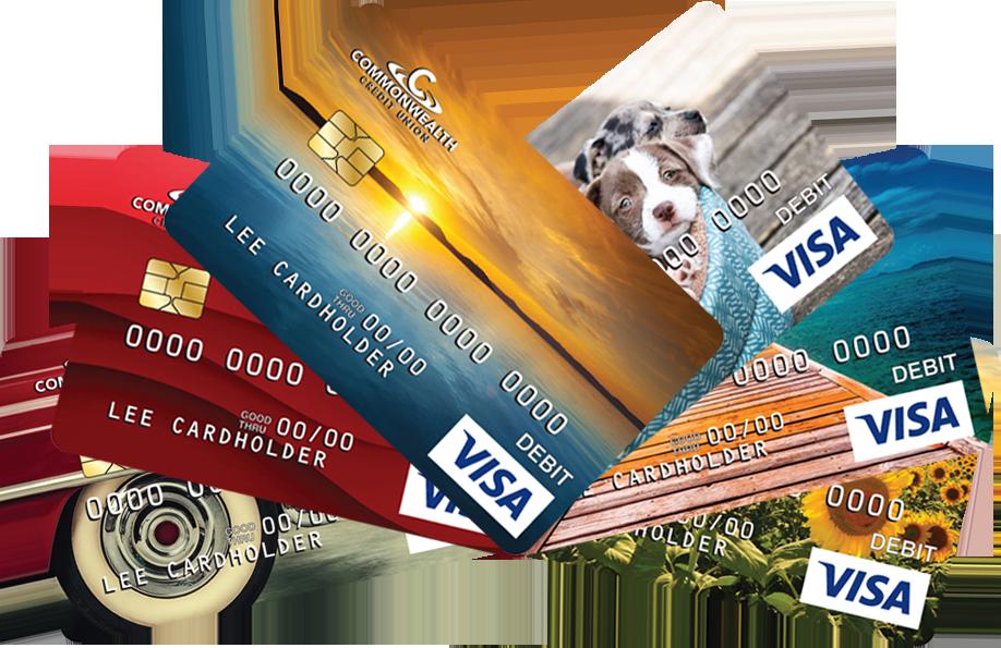 Credit card PNG