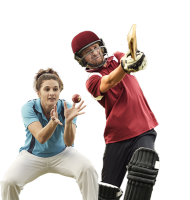 Cricket players PNG