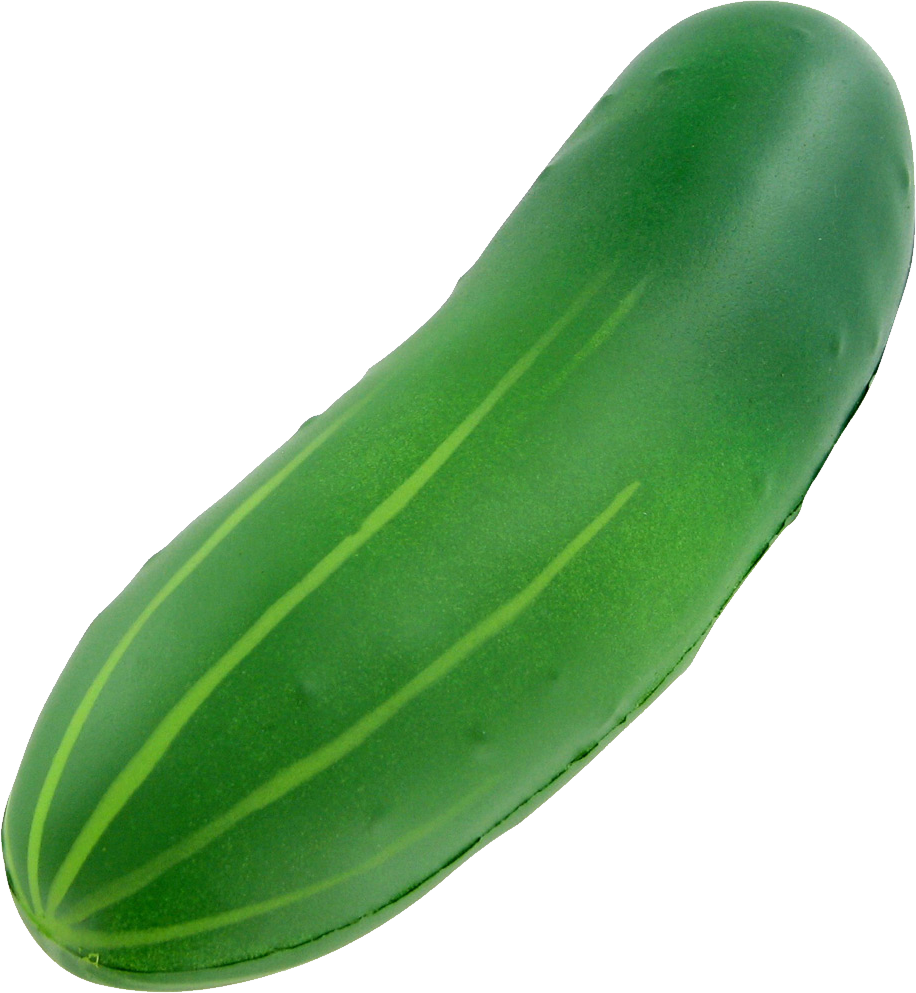 Green cucumber PNG