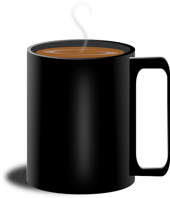 black cup PNG image