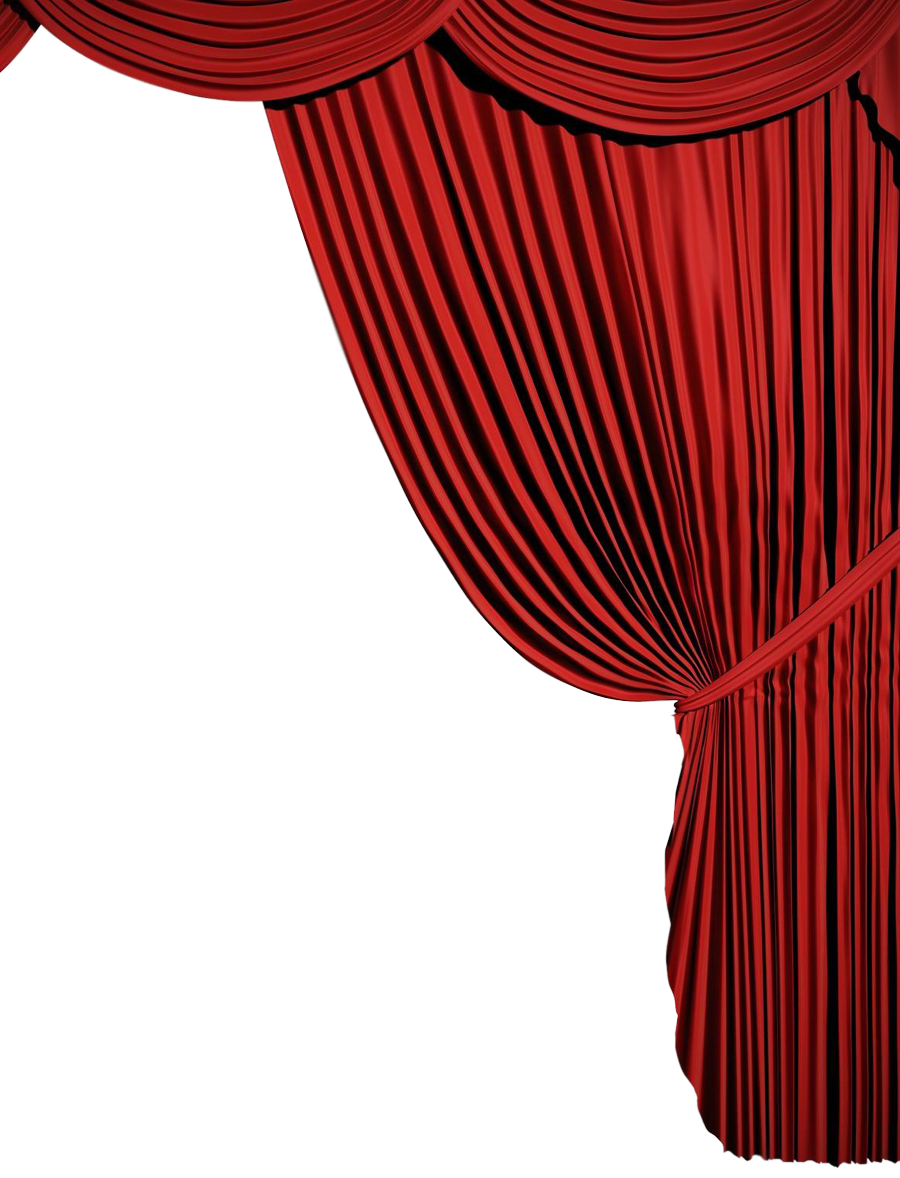 Red Curtains Png