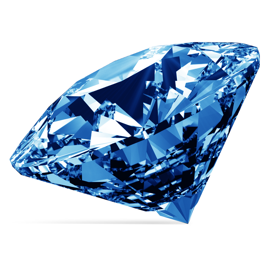 Blue Diamond Gemstone