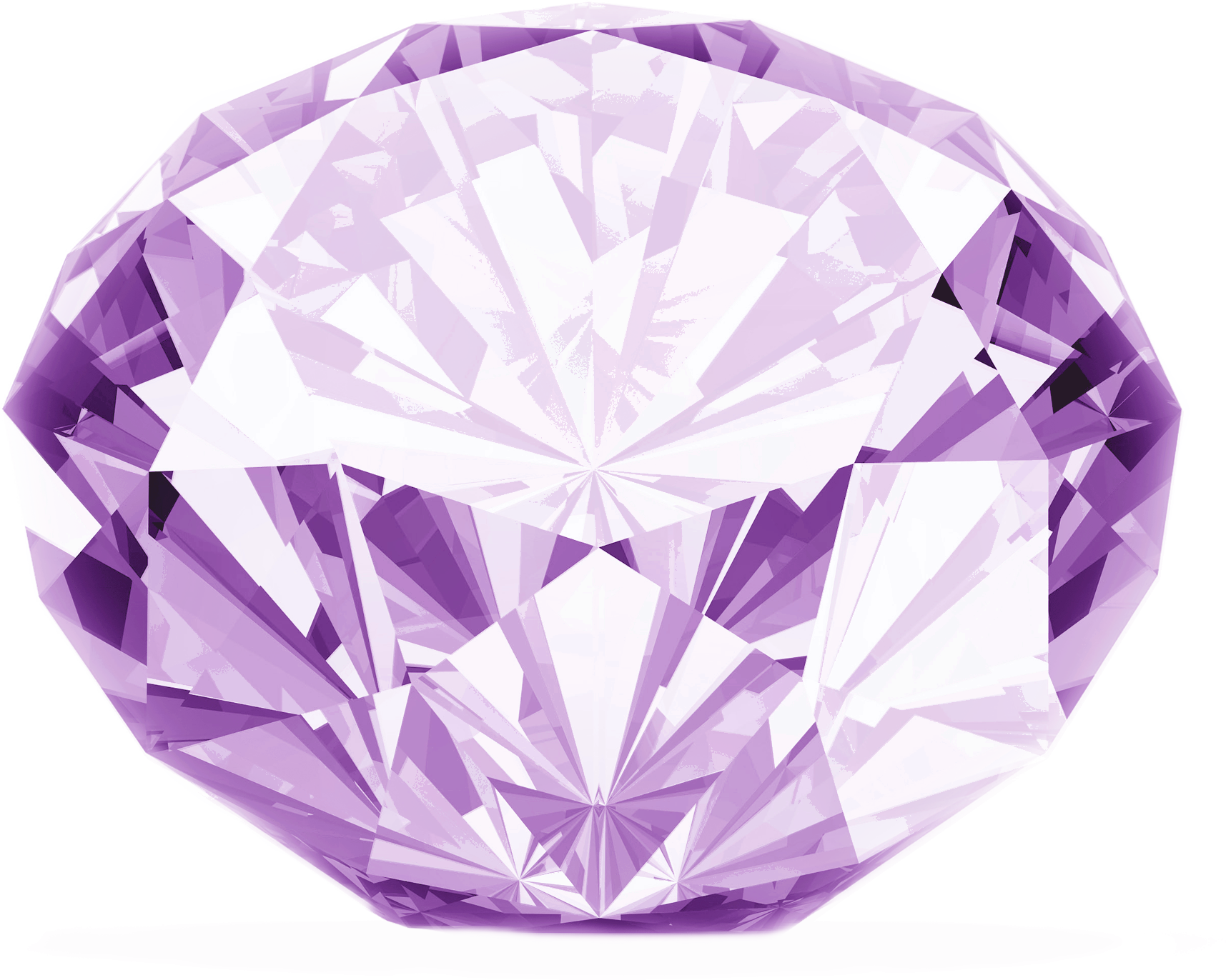 Purple diamond PNG image