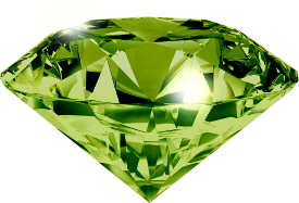 Green diamond PNG image