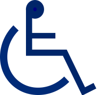 Disabled handicap symbol PNG