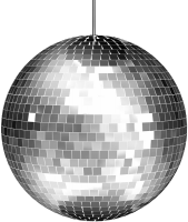 Disco ball PNG