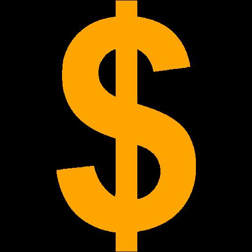 Dollar logo PNG