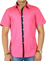 Pink dress shirt PNG image