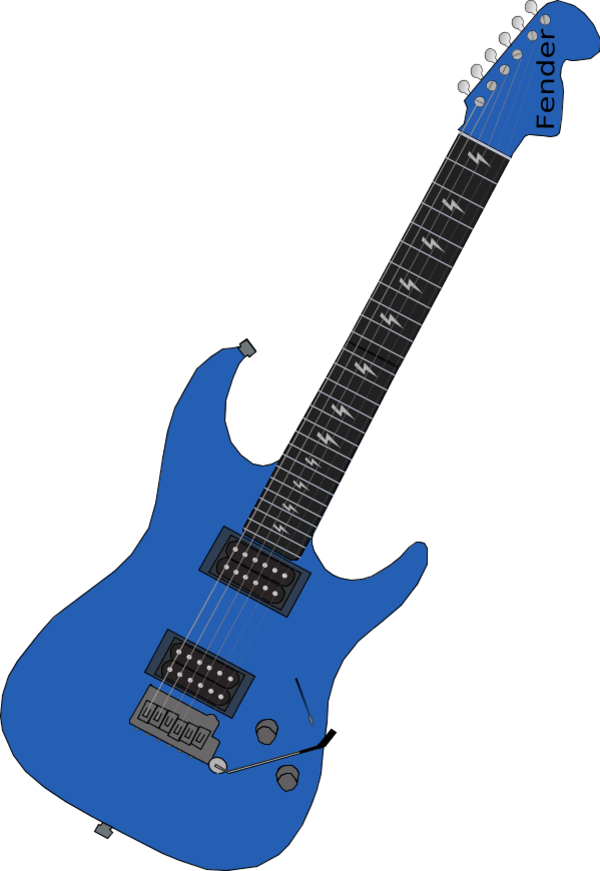 Electric guitar PNG
