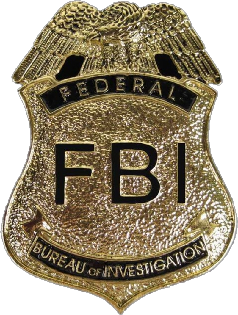 FBI badge PNG
