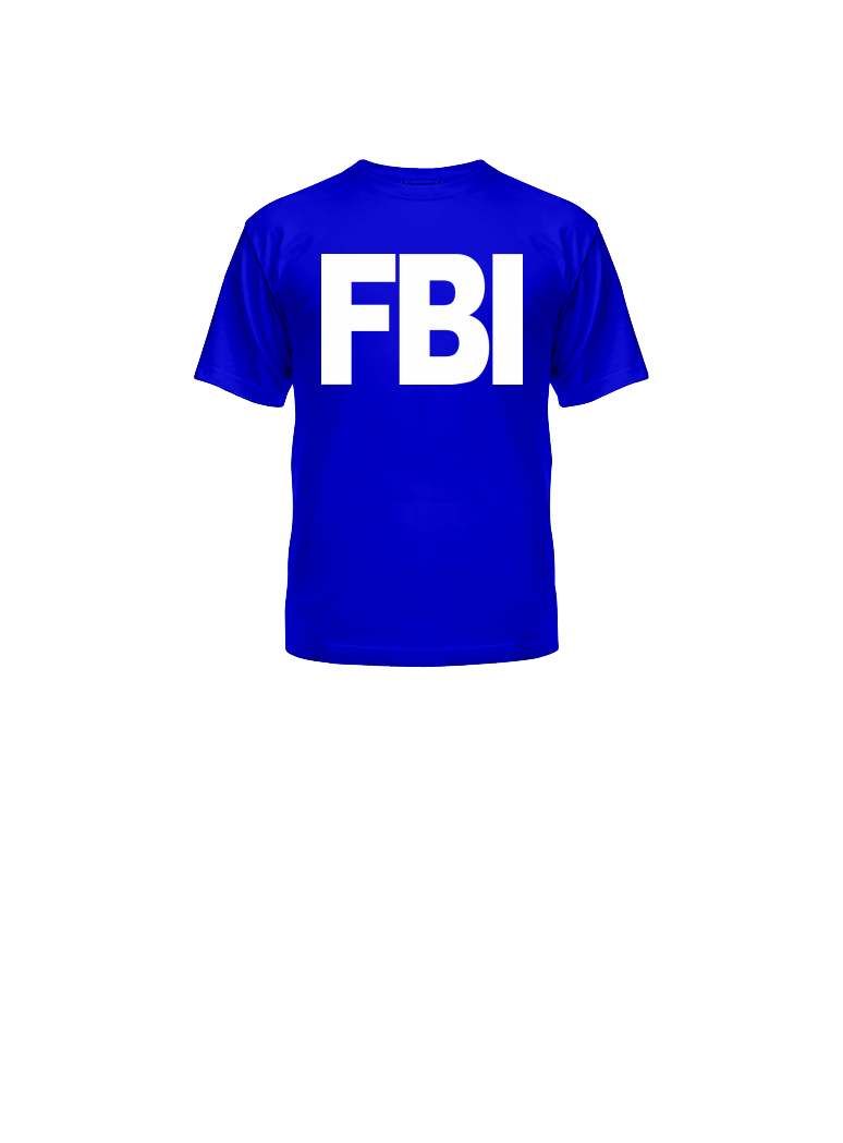 FBI  shirt PNG