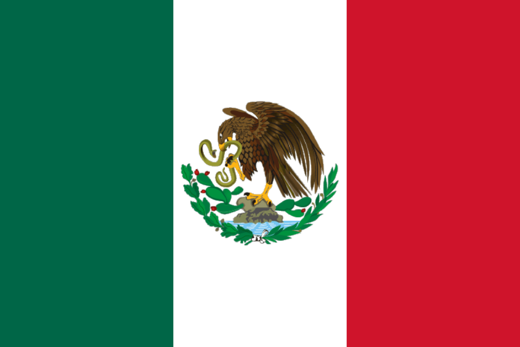 Mexica flag PNG