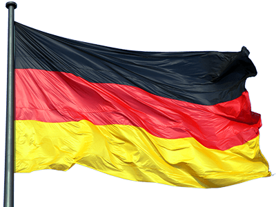 German flag PNG