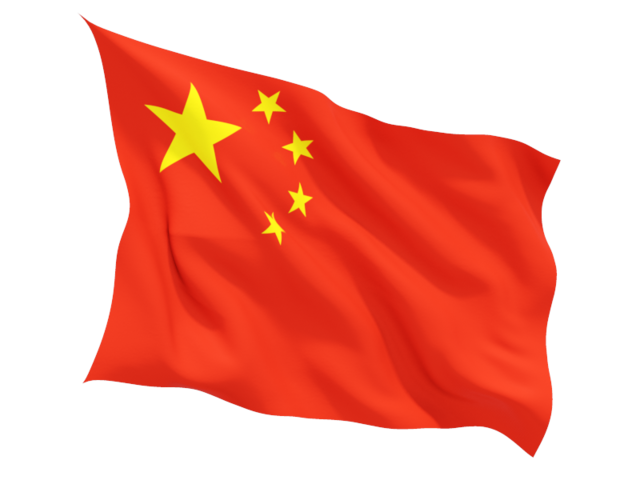 China flag PNG