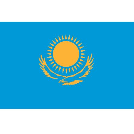 Kazahstan flag PNG