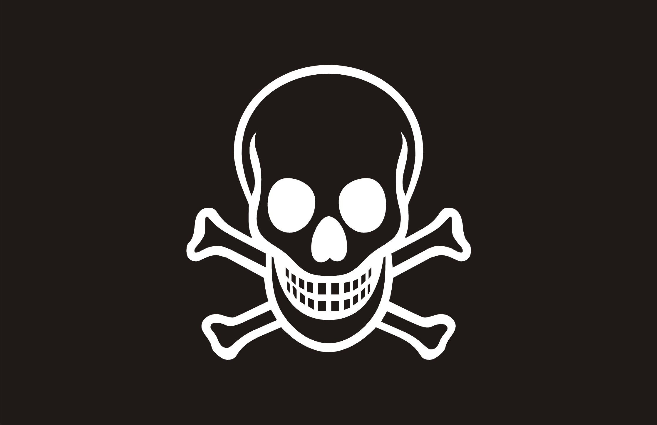 Pirate flag PNG
