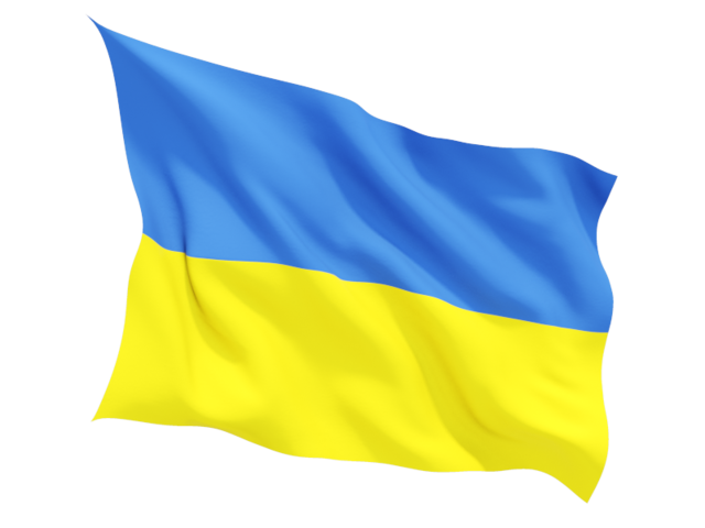 Ukrainian flag PNG