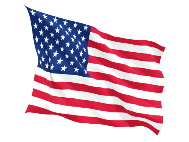 USA flag PNG