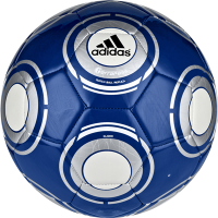 Blue football ball PNG image