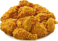 Fried KFC chicken PNG